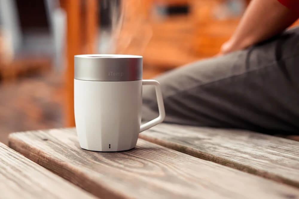 iTemp Temperature-regulating mug-bowl